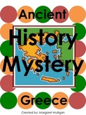 Ancient Greece History Mystery - Printable Board Game