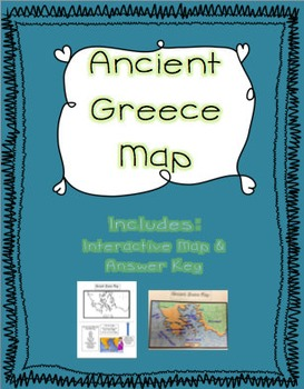 Ancient Greece Interactive Map