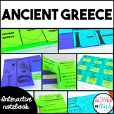 Ancient Greece Social Studies Interactive Notebook