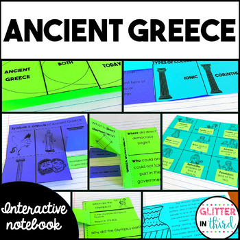 Ancient Greece Social Studies Interactive Notebook
