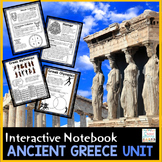 Ancient Greece - Interactive Notebook