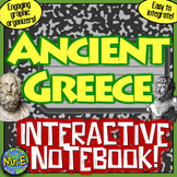 Ancient Greece Interactive Notebook: Greek Geography, Polis, Government, More!