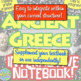 Ancient Greece Interactive Notebook: Greek Geography, Poli