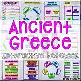 Ancient Greece Interactive Notebook and Graphic Organizers