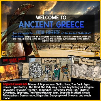 Ancient Greece PowerPoint - Interactive