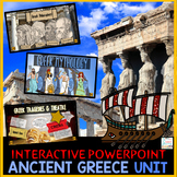 Ancient Greece PowerPoint | Google Slides | Google Classroom Distance Learning