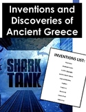 Ancient Greece Inventions Shark Tank: Legacy of Ancient Greece PBL