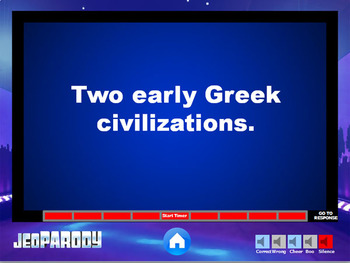 Ancient Greece - History Game