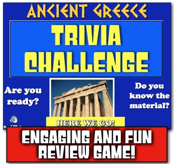 Ancient Greece Review! Students Play Jeopardy-like Game to Review Greece!