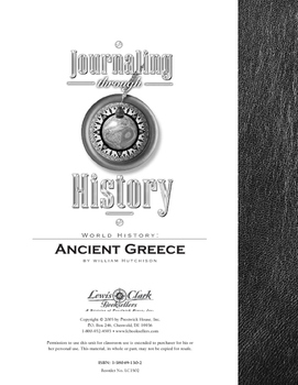 Ancient Greece: Journaling Through History