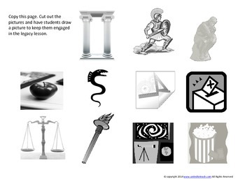 Ancient Greece Legacies: FREEBIE