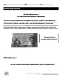 Ancient Greece Lesson: Direct Democracy Simulation