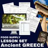 Ancient Greece Lesson: Food Supply