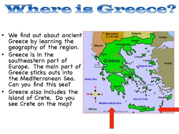 Ancient Greece Lessons - Based on the Core Knowledge Curriculum