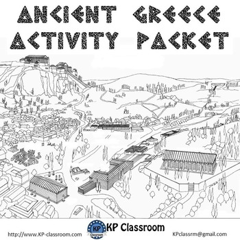 Ancient Greece Activity Packet