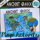 Ancient Greece Map Activity (Print and Digital)