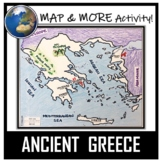 Ancient Greece Map Activity- Label and Color!