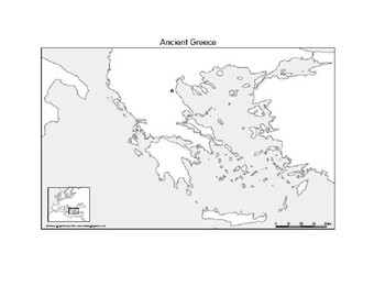 Ancient Greece Map Assignment