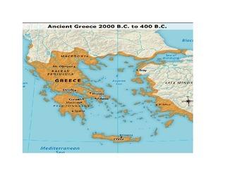 Ancient Greece Map Quiz