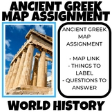Ancient Greece Map assignment World History