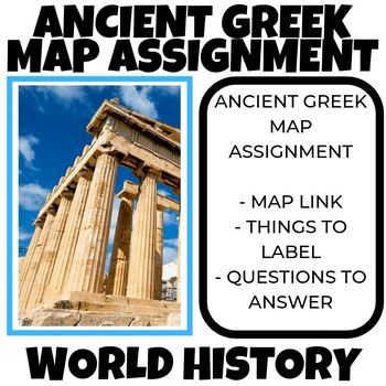 Ancient greece map assignment world history by social studies megastore ancient greece map assignment world history gumiabroncs Image collections