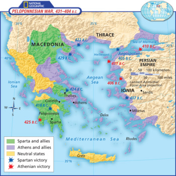 Ancient Greece Map Worksheets Teaching Resources Tpt