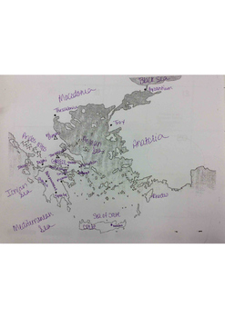 Ancient Greece Mapping Activity