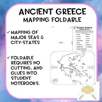 Ancient Greece Mapping Foldable (ISN)