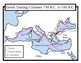 Ancient Greece Maps: Package with Answer Key: Students Color