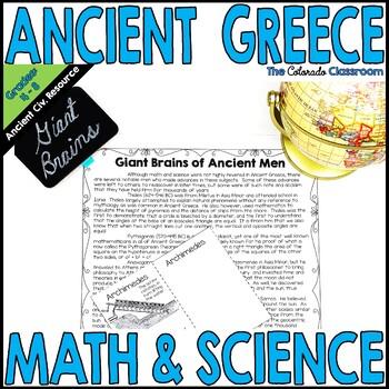 Ancient Greece Math & Science
