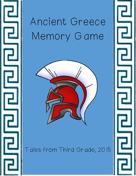 Ancient Greece Memory Matching Game