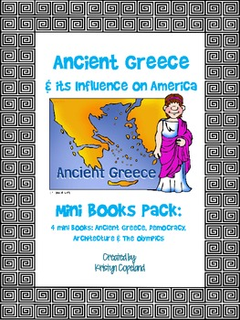 Ancient Greece Mini Books Pack (4 Mini Books)