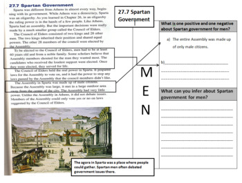 Ancient Greece Mini-Bundle - Life, Politics and Govermment in Ancient Greece
