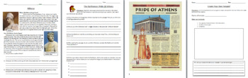 Ancient Greece Mini-Unit - Olympics, Battle of Troy, the Gods, Alexander, etc.
