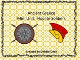 Ancient Greece Mini Unit: Hoplite Soldiers