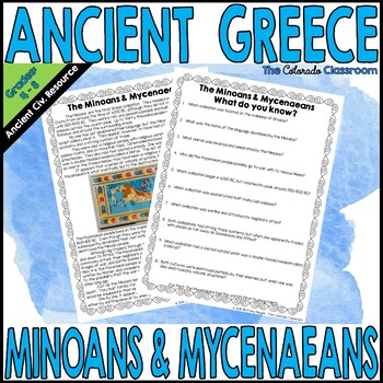 Ancient Greece Minoans & Mycenaeans