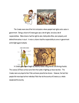 Ancient Greece Modified Unit Section 1 Rise of Greek Civilization