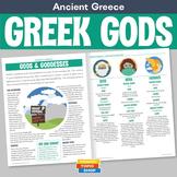 Ancient Greece - Greek Gods and Goddesses