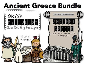 Ancient Greece & Mythology Bundle