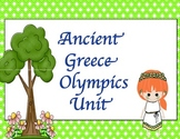 Ancient Greece Olympics Unit