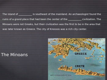 Ancient Greece PPT Day 2: Minoan Civilization