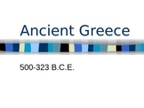 Ancient Greece PPT (Editable)