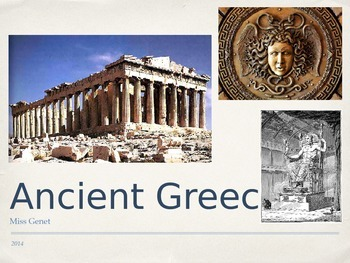 Ancient Greece Packet Notes
