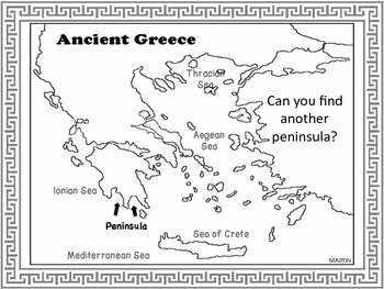 Ancient Greece Part 1 Powerpoint Notes And Student Worksheets