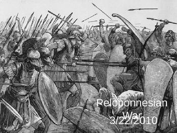 Ancient Greece - Peloponnesian War