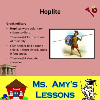 Ancient Greece:The Persian War Academic Vocabulary PowerPoint