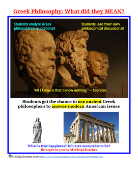 Ancient Greece - Philosophy