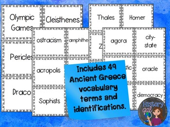 Ancient Greece Review Game