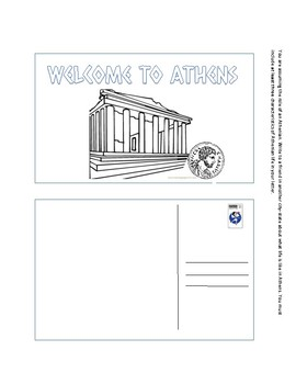 Ancient Greece Post Cards