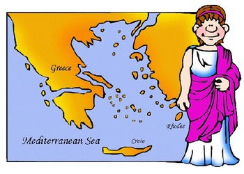 Ancient Greece Power Point/Activities/Writing